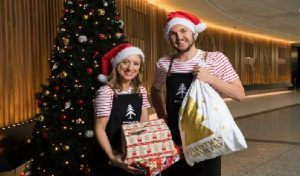 Melbourne Airport treats travellers for Christmas giving away $100,000 in gifts