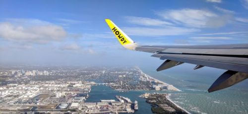 My first time flying Spirit Airlines