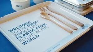 Hi Fly operates no single-use plastics passenger flight