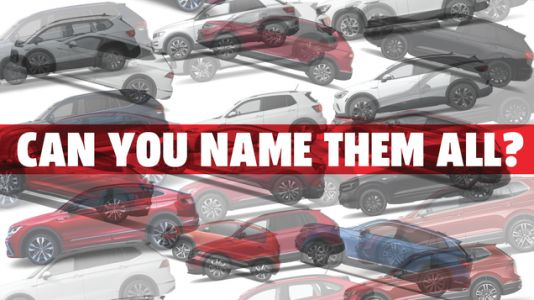 I Bet You Can't Identify Every Volkswagen SUV On Sale Now