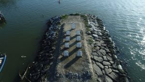 World's first marine cemetery open at Beypore Beach in Kerela, India