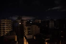 Power outage suspends regular work and educational activities Venezuela