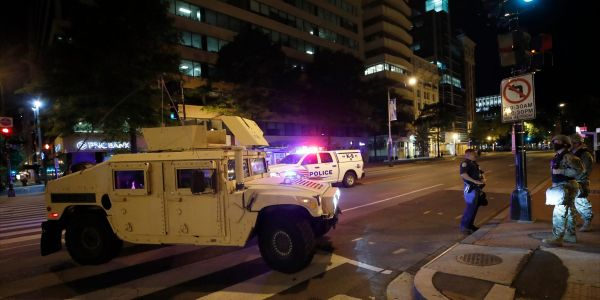 Militarization has created a police culture that sees protesters as 'the enemy'
