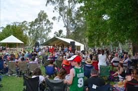 River Daze, a music, wine and food event on banks of Murray River