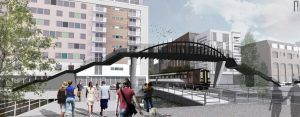 Brayford Wharf East Level Crossing To Close As Project To Install Footbridge Continues