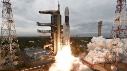 Historic Indian Moon Mission Underway After Successful Launch of Chandrayaan-2 Lander and Rover