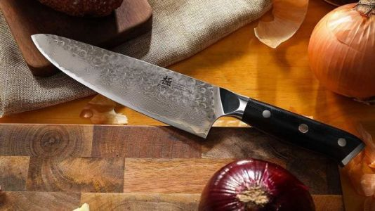 This Chef's Knife Is As Sharp As It Is Gorgeous