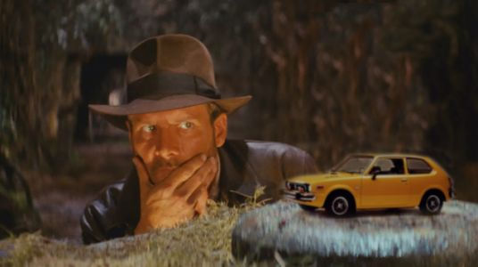 A Honda Civic Was In Raiders Of The Lost Ark, Sort Of