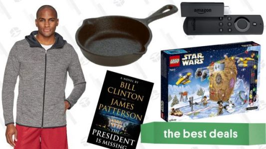 Sunday's Best Deals: LEGO Star Wars, Amazon Essentials Clothes, Mini Skillet, and More
