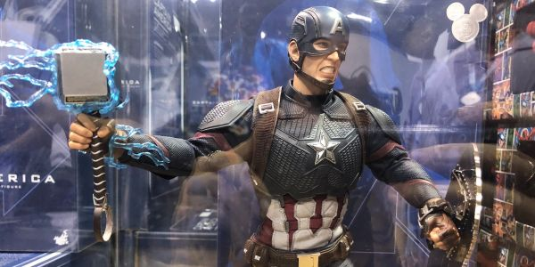 Disney is selling a $300 Captain America figure that captures one of the best moments from 'Avengers: Endgame' - and it's already going for hundreds more on eBay