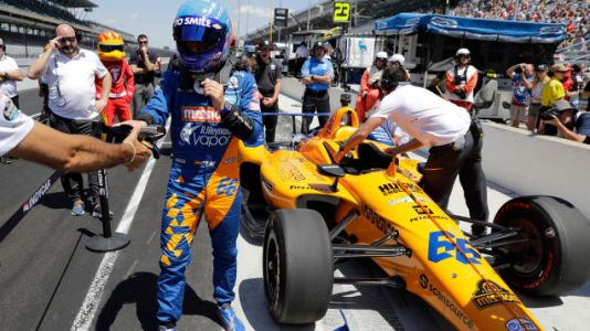 Fernando Alonso and McLaren Provisionally Bumped From Indy 500 Grid