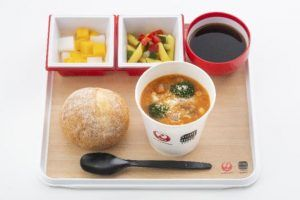 JAL Features Air Soup Stock Tokyo on International Flights