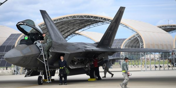 Lockheed engineers will determine the fate of the F-22s ravaged by Hurricane Michael at Tyndall Air Base