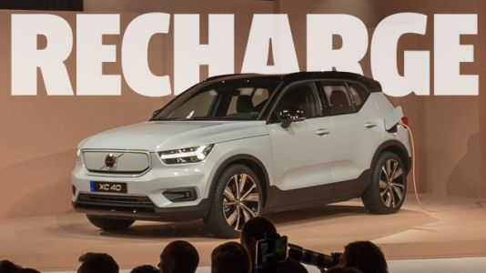 Volvo's First Full-EV Is Called XC40 Recharge And Comes With A Year Of Free Electricity