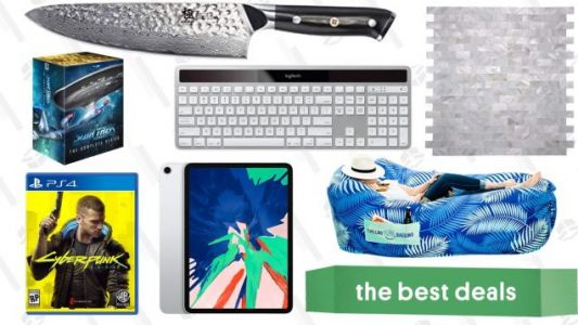 Saturday's Best Deals: Chillbo Shwaggins, Cyberpunk 2077, Backsplash Tiles, Star Trek, and More