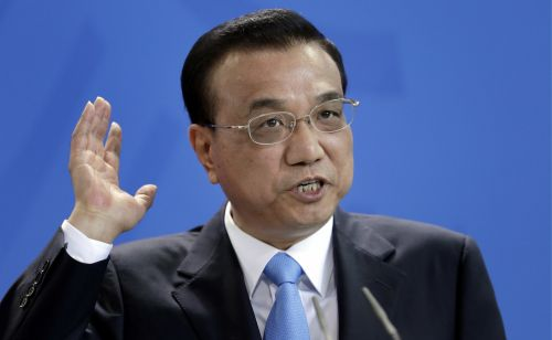 Chinese tech stocks jump after Chinese Premier Li Keqiang vowed not topursue a policy of currency devaluation
