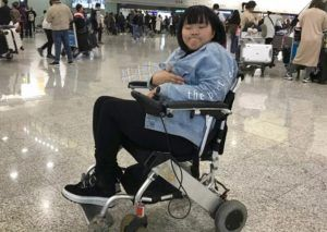 Wheelchair user not allowed boarding the plane by Hong Kong Airlines staff