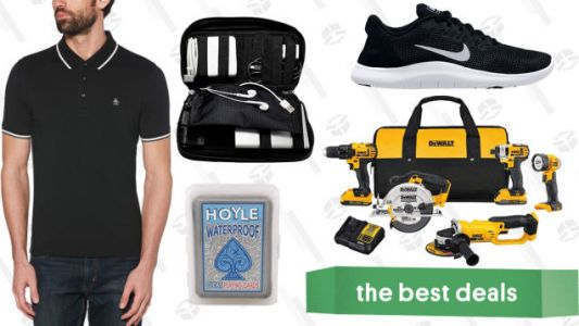 Saturday's Best Deals: Clear the Rack, DEWALT Tools, Casper Mattresses, and More