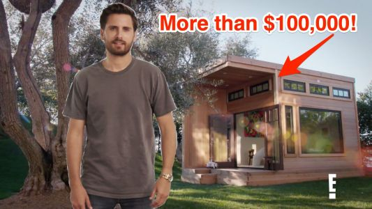 Scott Disick made his kids a $100,000 playhouse that is nicer than your apartment
