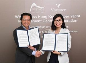 Superyacht services promoted in Hong Kong, HKCYIA signs MoU with Voyager