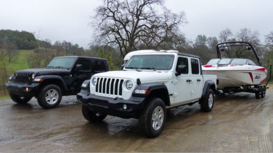The Engineering Behind the Jeep Gladiator's Tow Rating, and Why the Diesel Will Tow Less