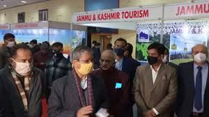 J&K Tourism Department stall at the India Travel Mart in Lucknow creates eager response