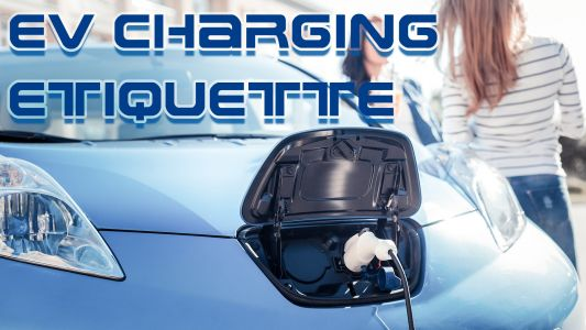 EV Etiquette - What To Do At Electric Car Public Charging Stations