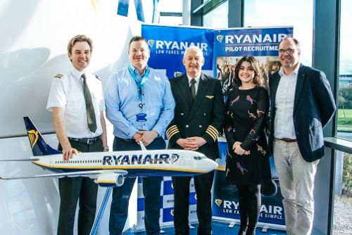 Ryanair Launches New Pilot Training Programme With SKY$U ATO