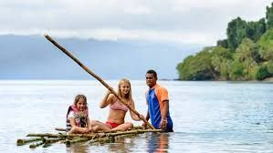 Fiji stands out due to the warmth and happiness of its people