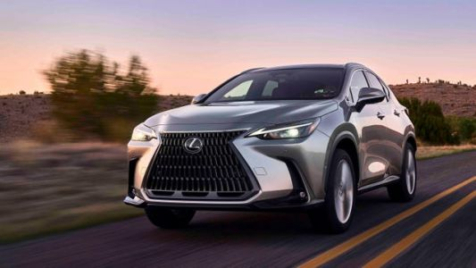 The New Lexus NX Doesn't Look That New, Until You Climb Aboard