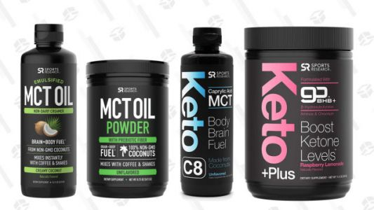 Get Swole, Ripped, etc. with Today's Sports Research Gold Box