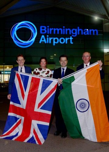 Regional Delegation Leads Trade Mission to India from Birmingham Airport