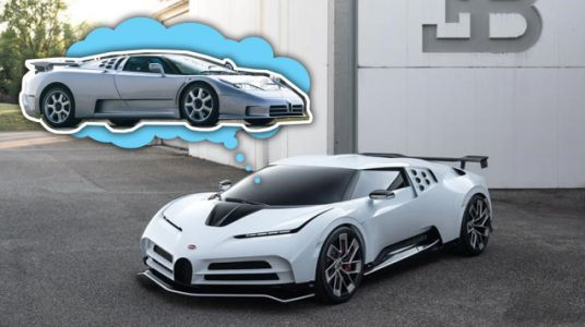 Here's The Bugatti EB110-Inspired Centodieci Before You're Supposed To See It