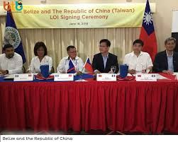 Letter of intent for tourism cooperation signed between Taiwan and Belize