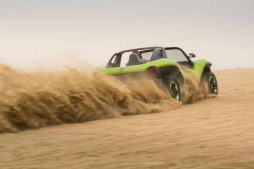 VW's Electric Dune Buggy Finally Made It To The Beach
