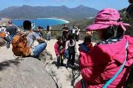 Chinese visitors drive Tasmanian tourism to new high