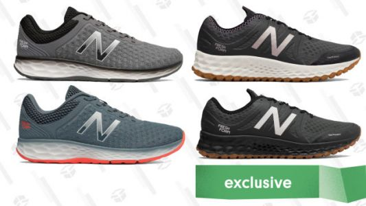 Step Into a New Pair of New Balance Kaymin Sneakers For Just $35