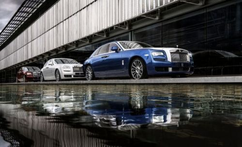 Rolls Royce Sends Off The Ghost With The Zenith Collection