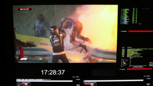 Romain Grosjean's Horrific Crash Is Proof That The Halo Was Worth It