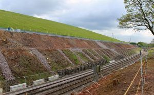 Abseil Teams Tackle Steep Conditions to Protect Railway Cutting from Rockfalls