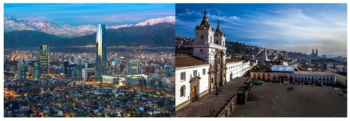 LATAM announces non-stop flights between Santiago and Quito, Ecuador