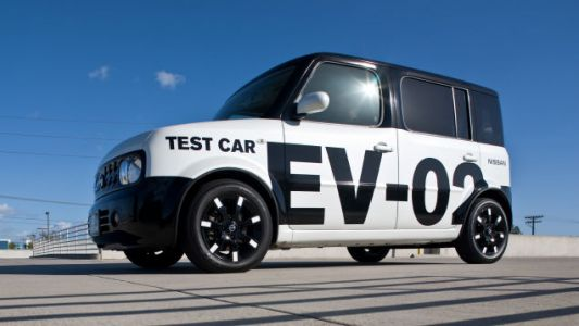 I'm Still Pissed We Never Got The Electric Nissan Cube