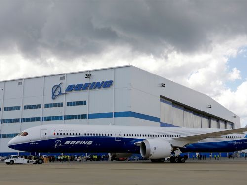 Boeing is shutting down its Dreamliner factory in South Carolina because of Hurricane Florence
