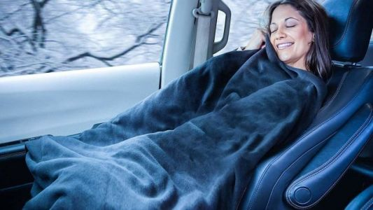 Turn Your Passenger Seat Into the Coziest Place On Earth With These Heated Car Blankets