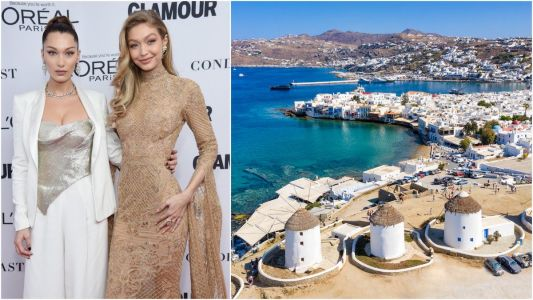 Gigi Hadid says she 'wouldn't recommend' the Greek island of Mykonos after she and sister Bella got robbed