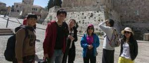 Jerusalem witnessing growth of Chinese tourists in recent years