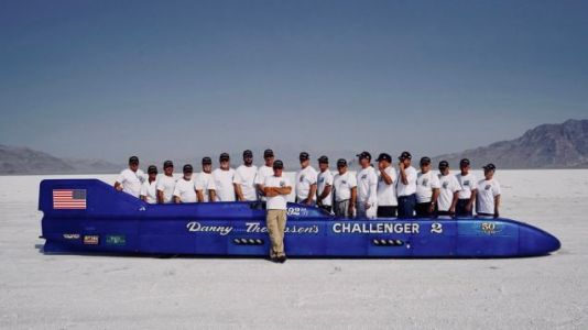 Danny Thompson's Challenger II Set The Piston-Driven Land Speed Record Today, 50 Years After It First Came To Bonneville