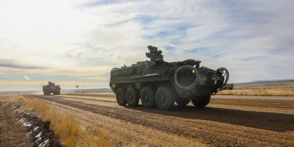What it's like to learn how to drive a Stryker armored vehicle from the Army's master drivers