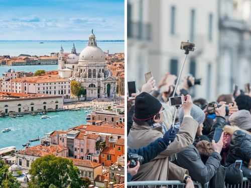 Disappointing photos show what Venice looks like in real life, from devastating floods to cruise ship accidents