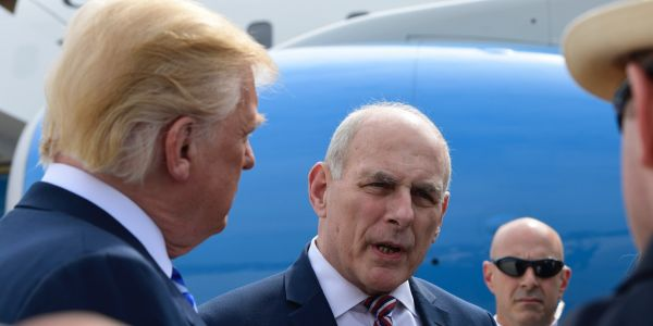 John Kelly was reportedly enraged with Trump over his handling of Charlottesville, said he would have taken a resignation letter 'and shoved it up his ass 6 different times'